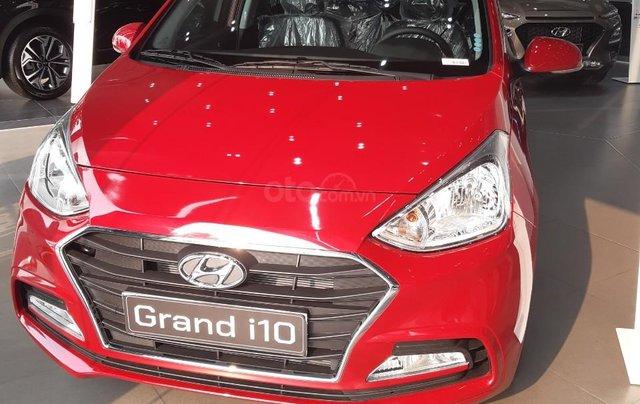 Bán Hyundai Grand i10 Sedan AT 2020, 130 triệu nhận xe ngay, hỗ trợ đăng kí chạy dịch vụ, vay ngân hàng lãi thấp0