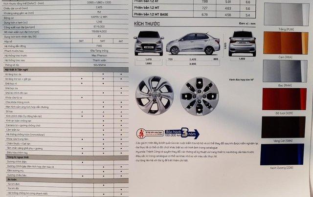 Bán Hyundai Grand i10 Sedan AT 2020, 130 triệu nhận xe ngay, hỗ trợ đăng kí chạy dịch vụ, vay ngân hàng lãi thấp4