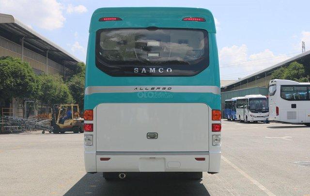 Samco Allergo Si 29 chỗ là sản phẩm ghế ngồi với kiểu dáng mạnh mẽ, động cơ Isuzu bền bỉ được nhập khẩu từ Nhật Bản 6
