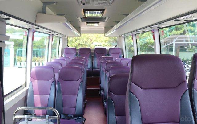 Samco Allergo Si 29 chỗ là sản phẩm ghế ngồi với kiểu dáng mạnh mẽ, động cơ Isuzu bền bỉ được nhập khẩu từ Nhật Bản 7