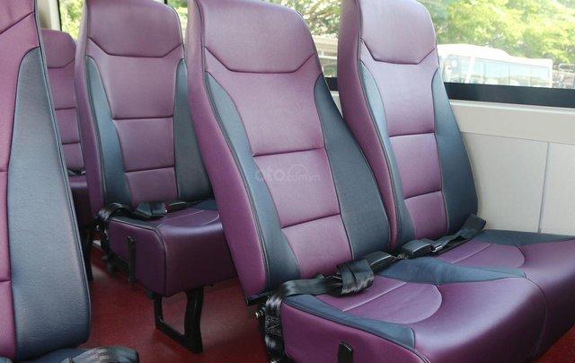 Samco Allergo Si 29 chỗ là sản phẩm ghế ngồi với kiểu dáng mạnh mẽ, động cơ Isuzu bền bỉ được nhập khẩu từ Nhật Bản 8