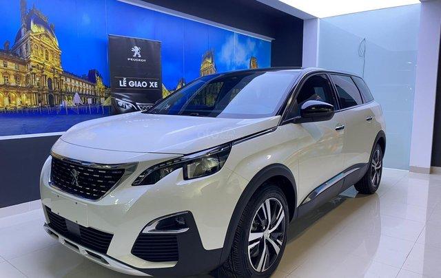 Cần bán gấp Peugeot 5008 màu trắng đời 2020, phiên bản tùy chọn1