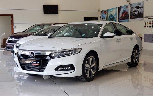Honda Accord 2020 - giảm giá xe cực khủng - trả góp từ 300Tr, tháng góp 13.9tr - giao xe toàn quốc0
