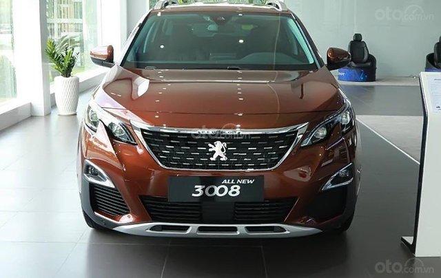 Peugeot Đà Nẵng đang bán Peugeot 3008 1.6 AT 2019, màu nâu vàng tuyệt đẹp0