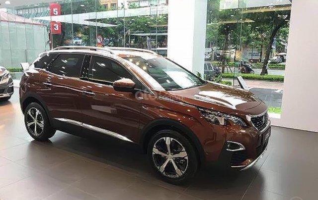 Peugeot Đà Nẵng đang bán Peugeot 3008 1.6 AT 2019, màu nâu vàng tuyệt đẹp1