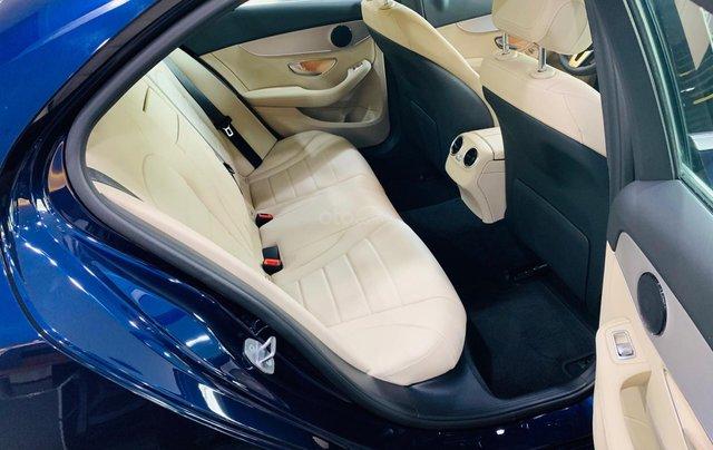 Giá xe Mercedes-Benz C180 2020, thông số kỹ thuật, giá lăn bánh, khuyến mãi tháng 11/2020, màu xanh12