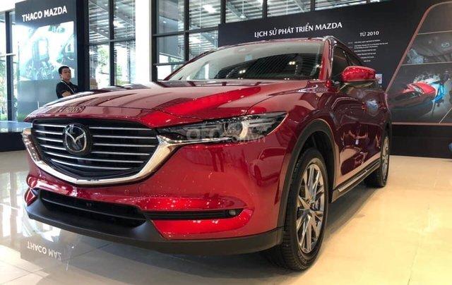 Mazda CX-8 - ưu đãi khủng mùa dịch - tiền mặt + phụ kiện lên đến 120tr - tặng BHVC0