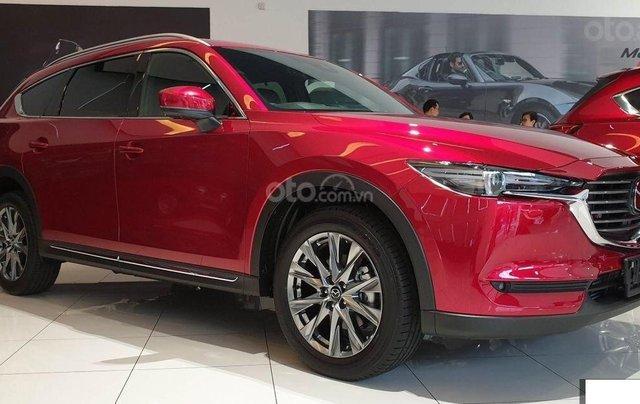 Mazda CX-8 - ưu đãi khủng mùa dịch - tiền mặt + phụ kiện lên đến 120tr - tặng BHVC2