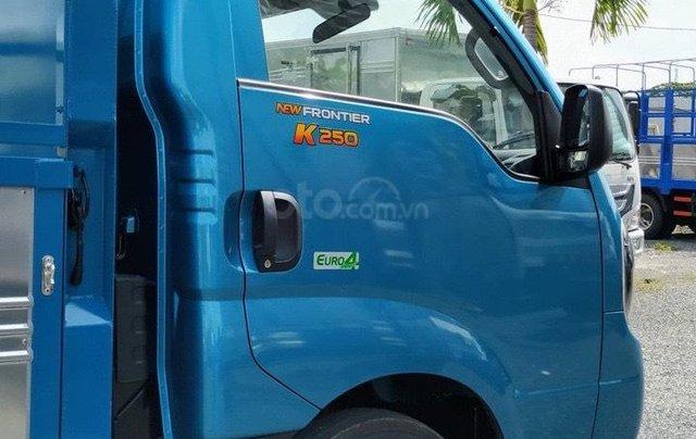 Thaco Cần Thơ xe tải Kia K250 động cơ Hyundai 6 số, có máy lạnh, đủ các loại thùng, hỗ trợ trả góp 75% giá trị xe2