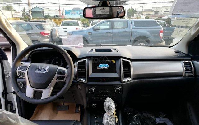 Bán xe Ford Ranger Limited New 2021, màu xanh Crystal Blue, xe nhập4