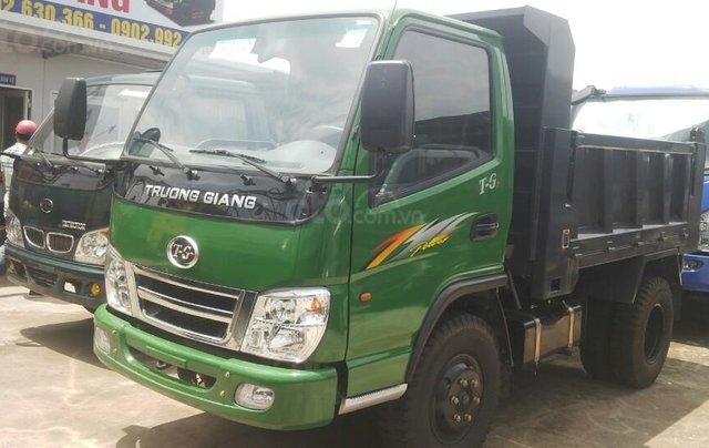 Kinh Môn Hải Dương bán xe Hoa Mai Ben 4 tấn, thành cao 74cm4