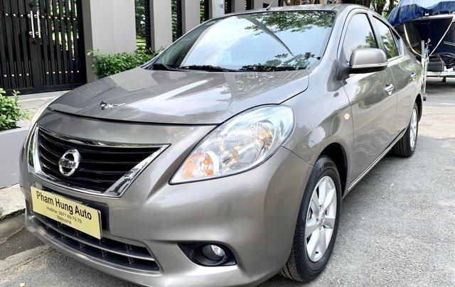 Cần bán Nissan Sunny model 2014, số tự động, bản full0