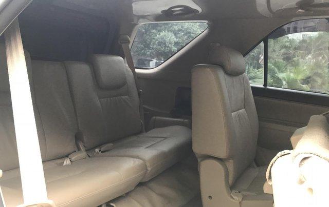 Bán xe Toyota Fortuner 2015, số tự động, màu bạc9