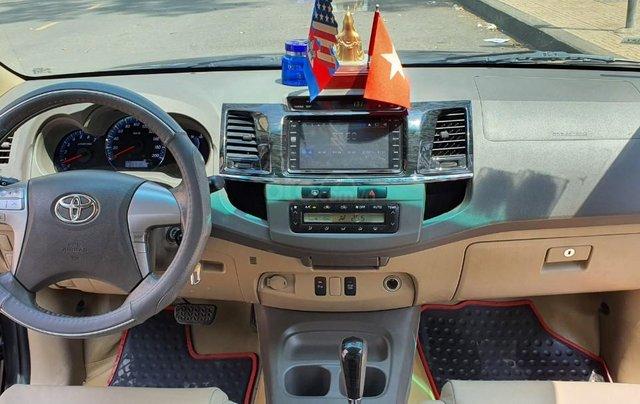 Cần bán xe Toyota Fortuner 2013 máy xăng, xe mới 90%7