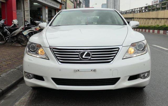 Đức Trí Auto - bán Lexus LS460L trắng kem đẳng cấp siêu mới chất nuột nà0