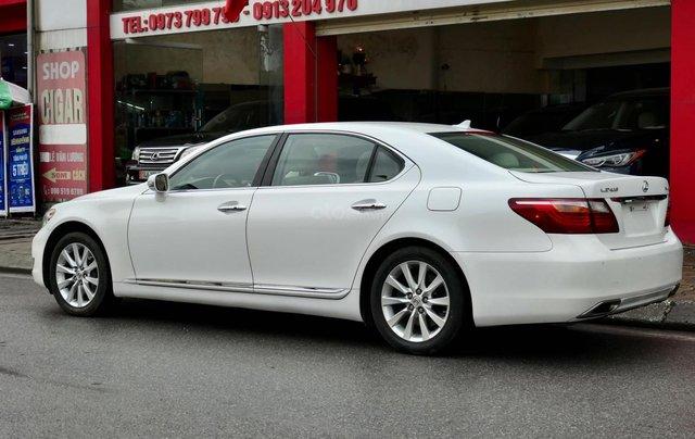 Đức Trí Auto - bán Lexus LS460L trắng kem đẳng cấp siêu mới chất nuột nà2