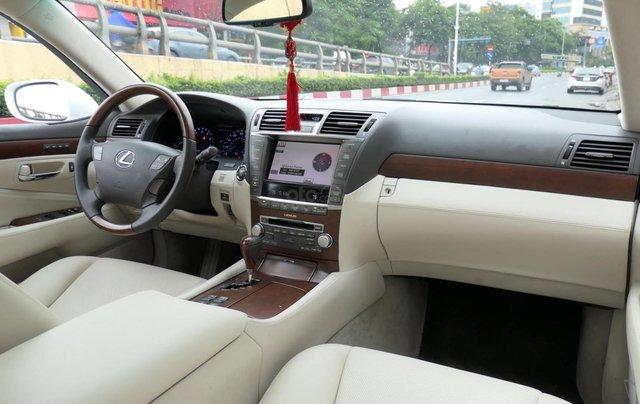 Đức Trí Auto - bán Lexus LS460L trắng kem đẳng cấp siêu mới chất nuột nà5