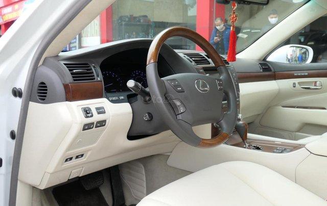 Đức Trí Auto - bán Lexus LS460L trắng kem đẳng cấp siêu mới chất nuột nà7