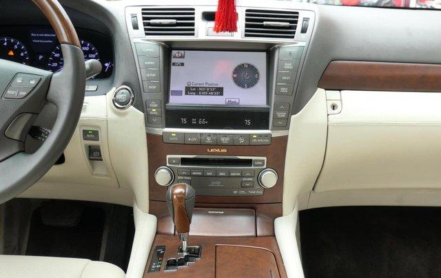 Đức Trí Auto - bán Lexus LS460L trắng kem đẳng cấp siêu mới chất nuột nà13