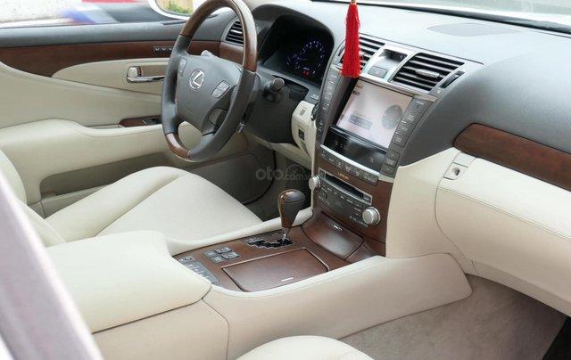Đức Trí Auto - bán Lexus LS460L trắng kem đẳng cấp siêu mới chất nuột nà12