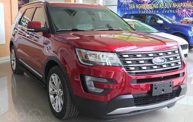 Ford Explorer Limited 2.3L 2020 ưu đãi ngập tràn0