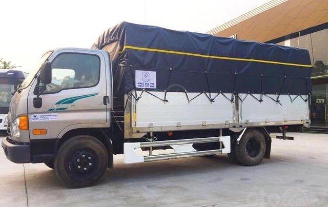 Hyundai New Mighty 110SP, tải 7t, thùng 5m, Hyundai Thành Công, giá rẻ trả góp, xe tải trung0