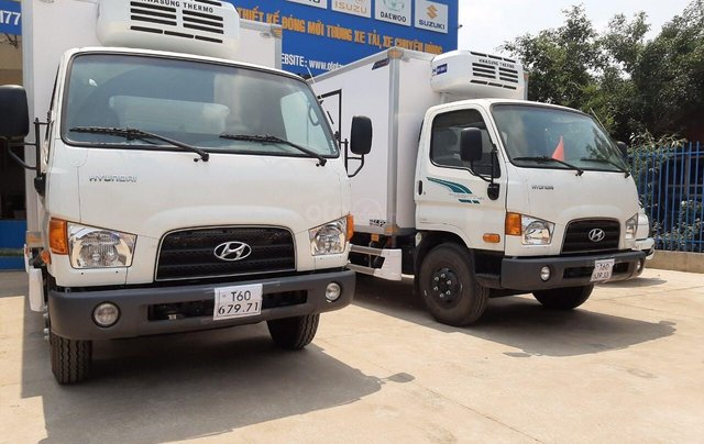 Hyundai New Mighty 110SP, tải 7t, thùng 5m, Hyundai Thành Công, giá rẻ trả góp, xe tải trung4