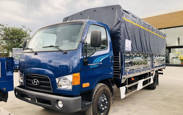Hyundai New Mighty 110SL, tải 7t, thùng 5.8m, Hyundai Thành Công, giá rẻ trả góp, xe tải trung0
