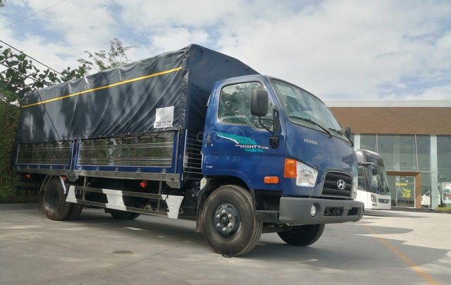 Hyundai New Mighty 110SL, tải 7t, thùng 5.8m, Hyundai Thành Công, giá rẻ trả góp, xe tải trung11