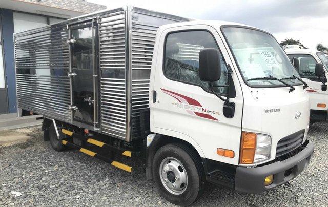 Hyundai New Mighty N250SL, tải 1.9t - 2.4t, thùng 4.3m, Hyundai Thành Công, giá rẻ trả góp, xe tải nhẹ thành phố0