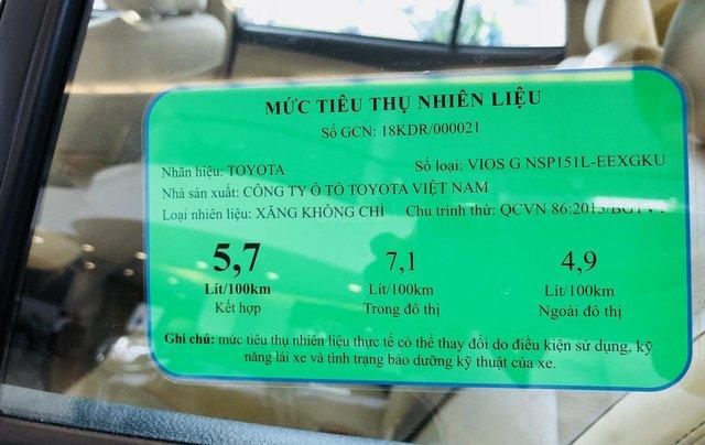 Toyota Vios giá tốt ưu đãi ngập tràn - tặng ngay bảo hiểm - Hỗ trợ giao xe tận nhà - đừng vội mua xe khi chưa gọi5