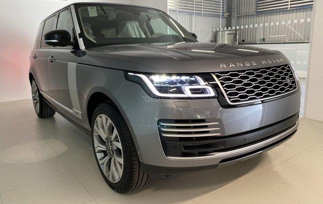 Bán xe Range Rover Autobiography LWB 2020 màu xám nhập khẩu chính hãng vừa về Việt Nam - xe giao ngay - tặng 1 năm bảo hiểm1