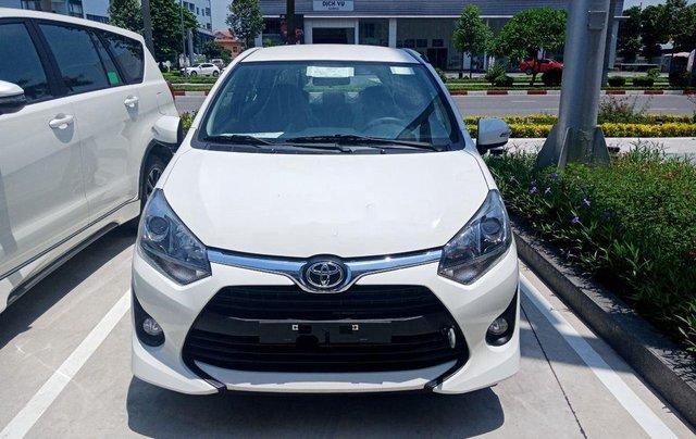 Bán Toyota Wigo năm sản xuất 2019, màu trắng, nhập khẩu 1