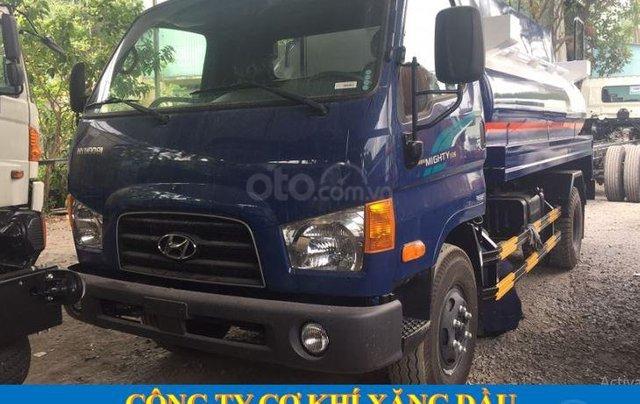 Bán xe bồn chở xăng dầu 8 khối Hyundai giá tốt có sẵn giao ngay0