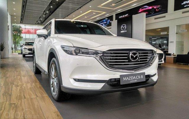 [Mazda Bình Tân - HCM] Mazda CX-8 SUV 7 chỗ - Ưu đãi lớn đến 150 triệu cùng bộ phụ kiện chính hãng0