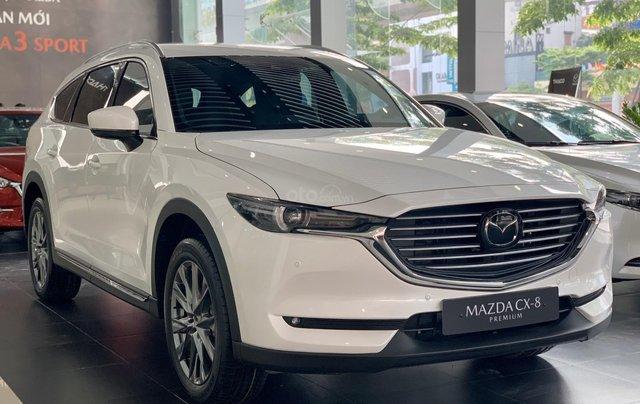 [Mazda Nguyễn Trãi] Giảm 50% thuế trước bạ cho Mazda CX-8 2020 - Ưu đãi tới 175 triệu, hỗ trợ trả góp 85%0