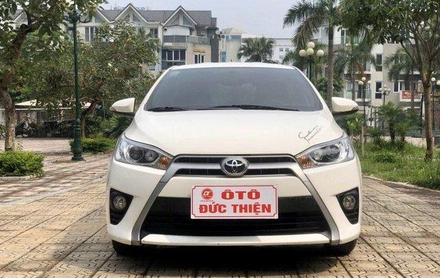 Bán Toyota Yaris sản xuất năm 2017, màu trắng, nhập khẩu nguyên chiếc1