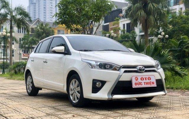 Bán Toyota Yaris sản xuất năm 2017, màu trắng, nhập khẩu nguyên chiếc2