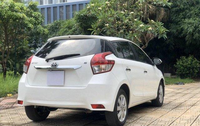 Bán Toyota Yaris sản xuất năm 2017, màu trắng, nhập khẩu nguyên chiếc4
