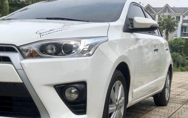 Bán Toyota Yaris sản xuất năm 2017, màu trắng, nhập khẩu nguyên chiếc5