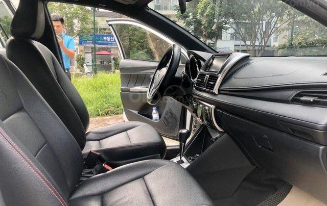 Bán Toyota Yaris sản xuất năm 2017, màu trắng, nhập khẩu nguyên chiếc9