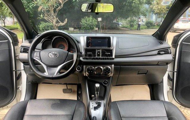 Bán Toyota Yaris sản xuất năm 2017, màu trắng, nhập khẩu nguyên chiếc10