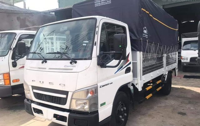 Mitsubushi Fuso Canter4.99 tải trọng 2,1 tấn, thùng dài 4,35m, động cơ Nhật Bản mạnh mẽ bền bỉ1