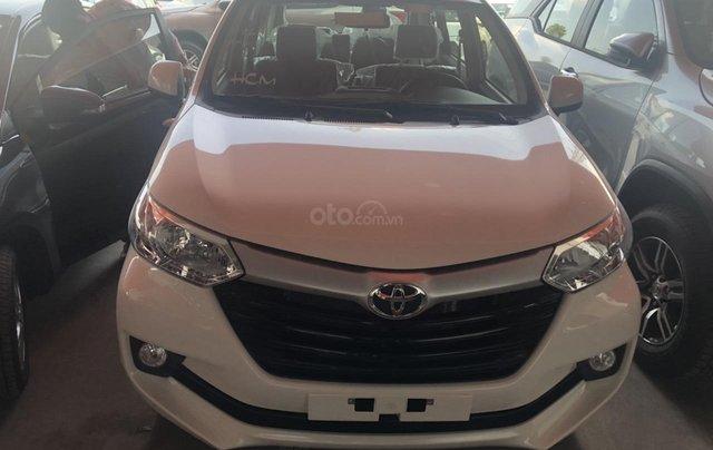 Bán  Toyota Avanza 1.3 số sàn 7 chỗ, màu trắng - khuyến mãi khủng0