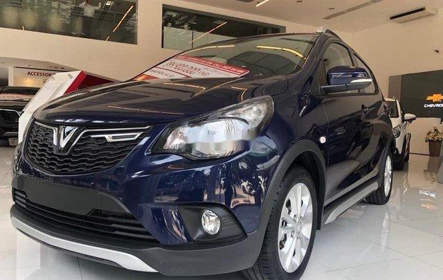 Cần bán xe VinFast Fadil sản xuất 2020, màu xanh1