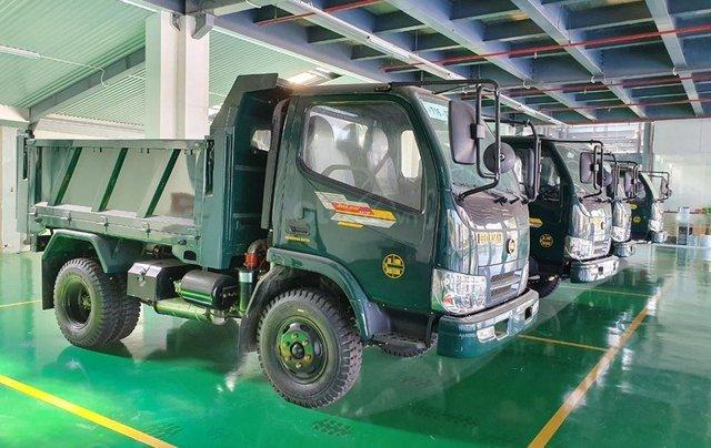 Bán Hoa Mai Xe tải 2 đến 4 tấn đời 2020, màu xanh, giá tốt6