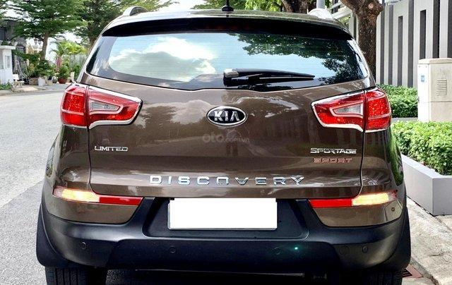 Bán Kia Sportage sản xuất năm 2011 màu nâu, đã đi 48000 km1
