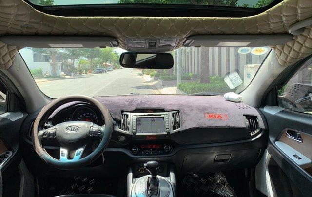Bán Kia Sportage sản xuất năm 2011 màu nâu, đã đi 48000 km4