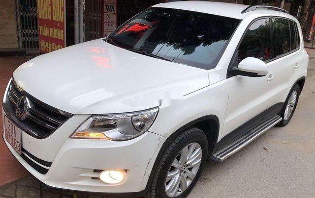Bán Volkswagen Tiguan đời 2010, màu trắng4