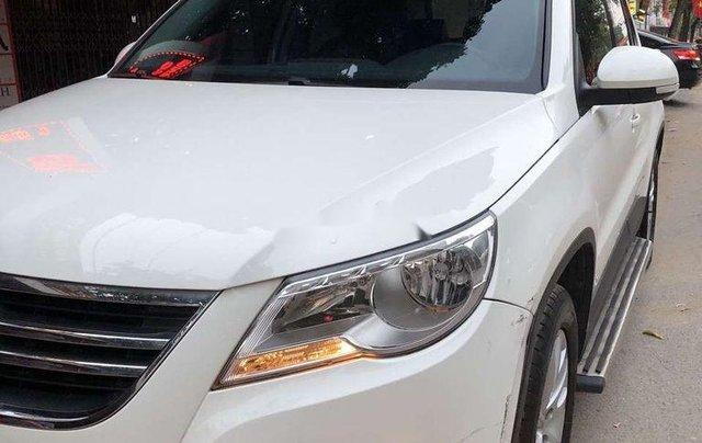 Bán Volkswagen Tiguan đời 2010, màu trắng1